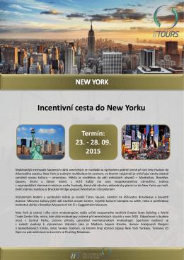 Incentivní cesta do New Yorku