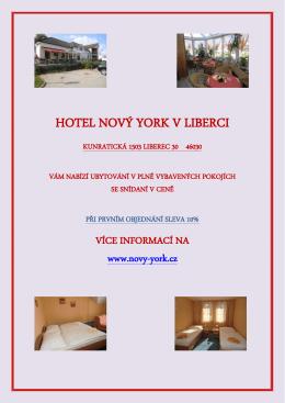 Ubytováni Liberec