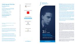PDF program - Klavírní festival Rudolfa Firkušného