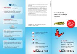 Brožura - Pioneer Investments