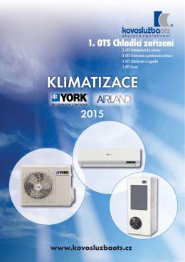 Katalog KLIMATIZACE 2015