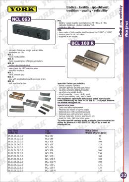 NCL 063 BCL 100 R 32 - szerszamkatalogusok.hu