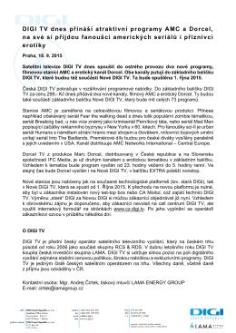 Tisková správa v PDF zde.