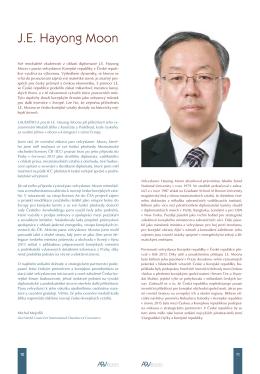 J.E. Hayong Moon velvyslanec Korejské