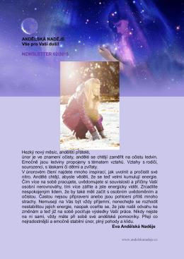 únor 2015 - Andělská naděje