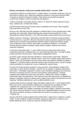 prohlášení většiny učitelů k současné situaci Obchodní akademie