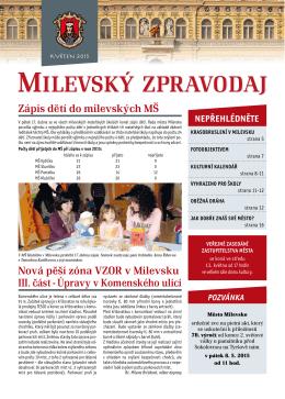 Milevský zpravodaj 5-2015