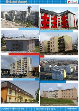 Bytové domy - VP Procházka