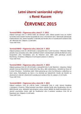 ČERVENEC 2015