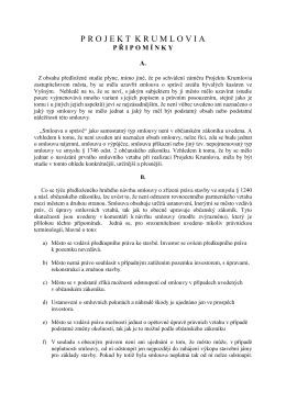 projektkrumlovia - Dokumenty pro Zastupitelstvo města Český Krumlov
