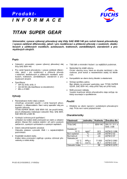 Titan Super Gear 85W-140