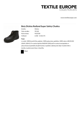Boty Dickies Redland Super Safety Chukka