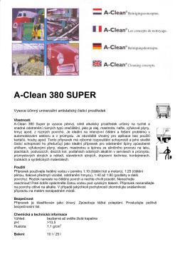 A-Clean 380 SUPER