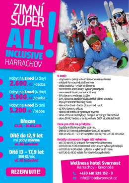INCLUSIVE!HARRACHOV