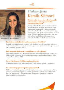 Kamila Slámová
