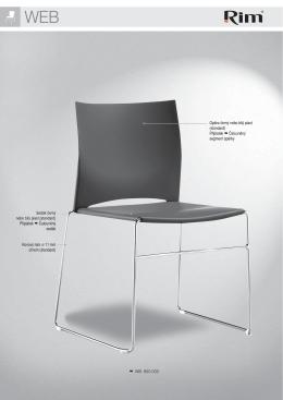 WB 950.000 Sedák černý nebo bílý plast (standard) Příplatek
