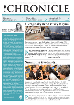 Ukrajinský nebo ruský Krym? Summit je životní styl