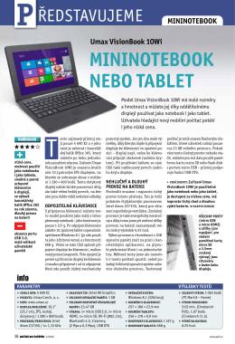 mininotebook nebo tablet