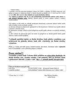 Podrobné informace o platbě zde.