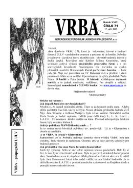 VRBA 71