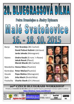 Pozvánka na dílnu 2015
