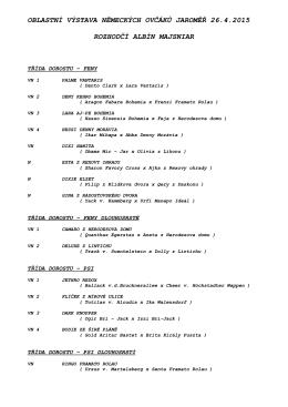 povýstavní katalog - Jaroměř 2015