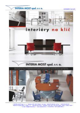 Skleněný nábytek a bytové doplňky