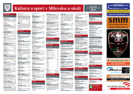 Milevský kulturní kalendář 11-2015