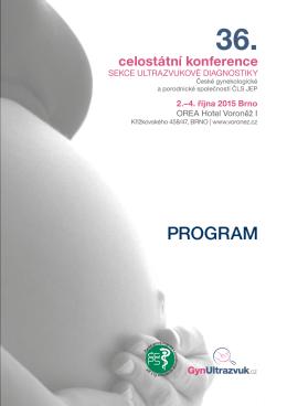 PROGRAM - portál Sekce ultrazvukové diagnostiky ČGPS ČLS JEP