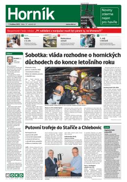 HORNÍK č. 17 ze dne 7. 5. 2015