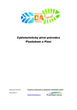Cykloturistický pivní průvodce Plzeňskem a Plzní
