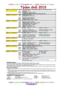 Program TD 2015