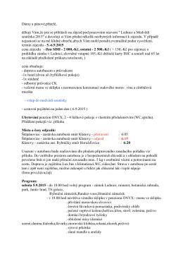 informace - SDH Štěpánovice