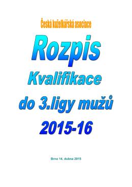 kvalifikace o 3.ligu 2015-2016
