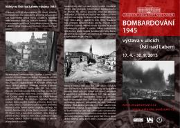 Bombardování 1945 - Muzeum města Ústí nad Labem