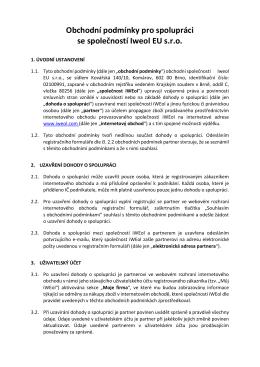 Zde jsou obchodní podmínky pro spolupráci ke stažení v PDF