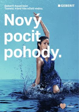 Brožura Geberit AquaClean