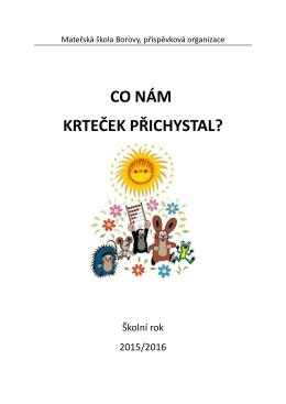 TVP 2015-2016 - Mateřská škola Borovy