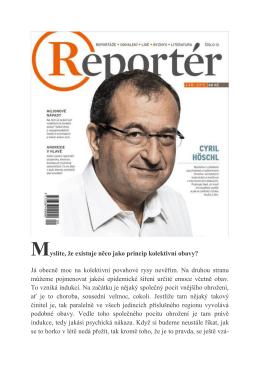 Reportér, září 2015, 13: 126