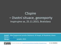 životní situace, georeporty - Konferencia Inspirujme se... 2015