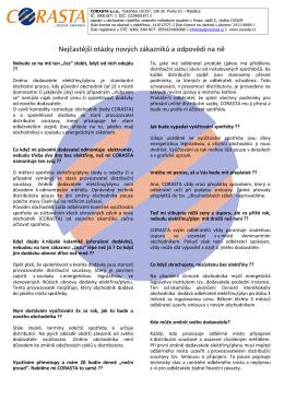 Odpovědi na nejčastější otázky ke změně dodavatele PDF