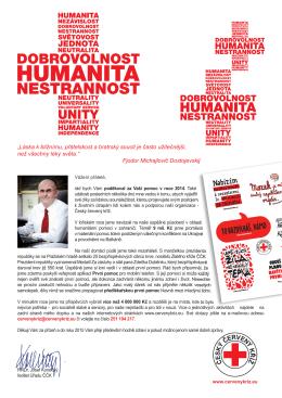 Dopis z ledna 2015 - Český červený kříž