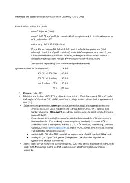 Informace pro účast na dostizích pro zahraniční účastníky – 26. 9