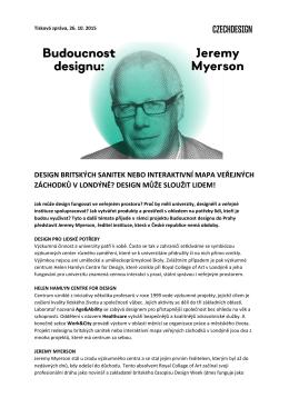 design může sloužit lidem!