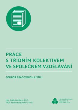 pracovní listy - Systémová podpora inkluzivního vzdělávání v ČR