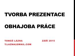 prezentace 2015
