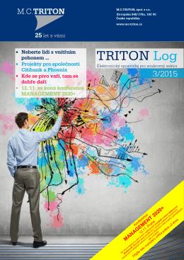 TRITON Log 3/2015 - MC