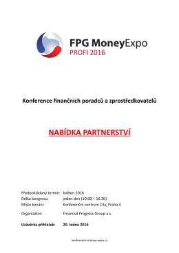 NABÍDKA PARTNERSTVÍ - Money