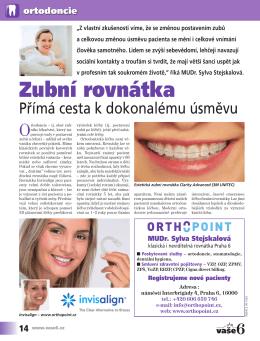 Článek MUDr. Sylvy Stejskalové Časopis VAŠE6