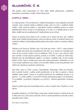 SLUNEČNÍK Č. 8